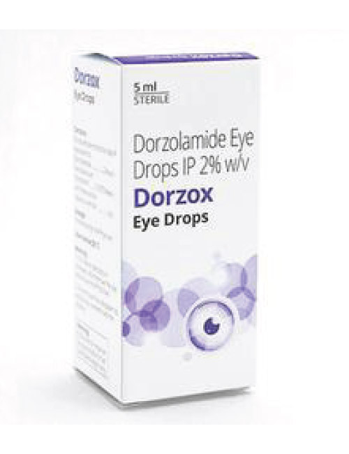 Dorzox Eye Drop – 2% (5 ml) Eye Drop