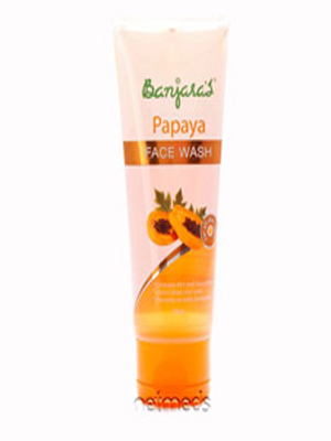 BANJARAS PAPAYA FACE WASH FOR ALL SKIN 100ML