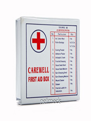CAREWELL FIRST AID BOX TYPE 2