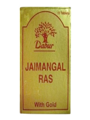 Dabur Jaimangal Ras with Gold, 10 tablet(s)