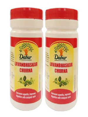 Dabur Lavan Bhaskar Churna, 500 g - Pack of 2