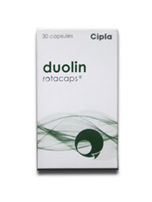 Duolin Rotacaps – 100 mg+ 40 mg