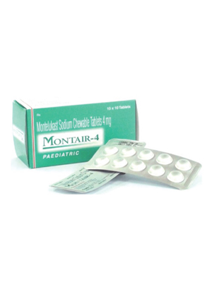 Montair Chewable Tablets – 4mg