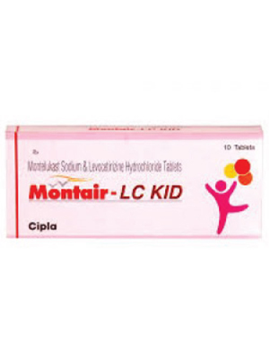 Montair LC Kid – (4+2.5mg)