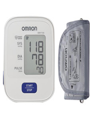 OMRON B.P MONITOR UPPER ARM TYPE (HEM-7120-IN)