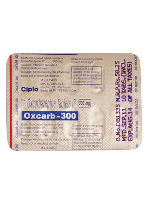 Oxcarb – 300mg