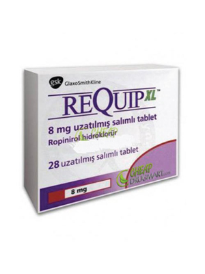 Requip XL – 8 mg