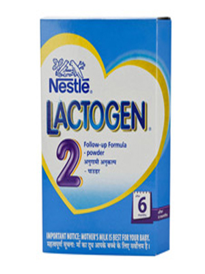 NESTLE LACTOGEN FOLLOW-UP FORMULA 2 400GM (BOX)