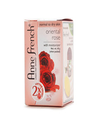 ANNE FRENCH HAIR REMOVER ORIENTAL ROSE 40GM