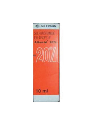 Albucid Eye Drop 20% – 10m