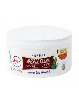 Ayur Massage Cream with Aloe Vera 200g
