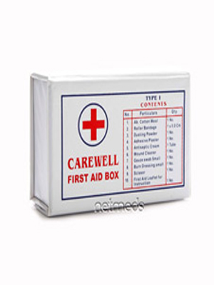 CAREWELL FIRST AID BOX TYPE 1