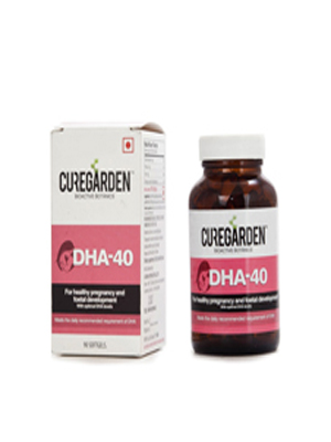 CUREGARDEN DHA 40 90 SOFTGELS
