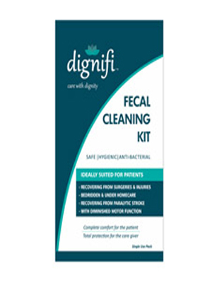 DIGNIFI SANITIZING KIT FOR FECAL CLEANING 10'S