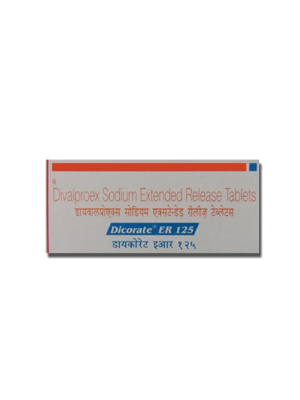 Dicorate ER – 125 mg