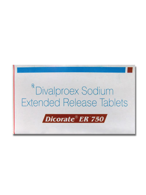 Dicorate ER – 750mg