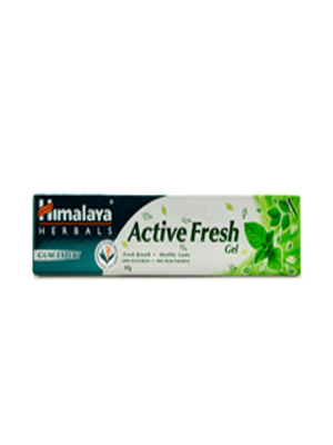 HIMALAYA ACTIVE FRESH GEL TOOTHPASTE 80GM