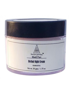 Khadi Face Care - Herbal Night Cream 50g