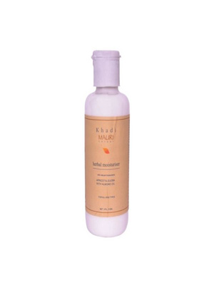 Khadi Herbal Moisturiser - Apricot Jojoba & Almond Oil