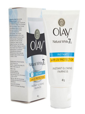 OLAY NATURAL WHITE 7 IN ONE INSTANT WITH UV PROTECTION FAIRNESS CREAM 40GM