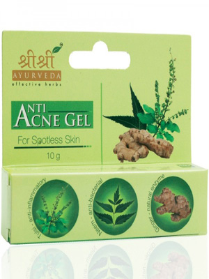 Sri Sri Ayurveda Anti Acne Gel