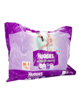 HUGGIES WONDER-PANTS (M) 5'S