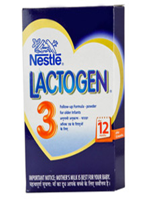 NESTLE LACTOGEN FOLLOW-UP FORMULA FOR OLDER INFANTS 3 400GM (BOX)