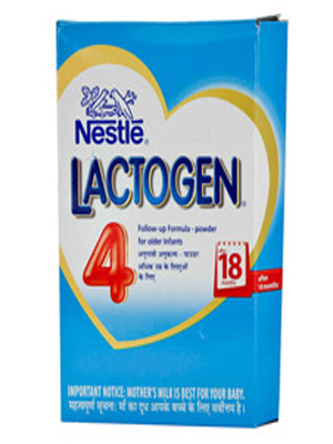 NESTLE LACTOGEN FOLLOW-UP FORMULA FOR OLDER INFANTS 4 400GM (BOX)
